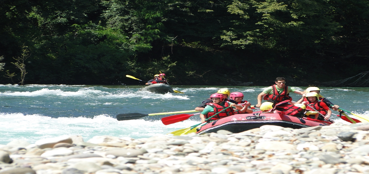 Rafting Gave d'Oloron