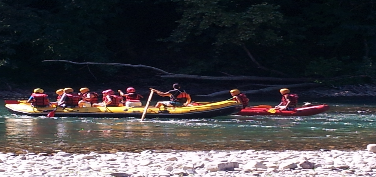 Rafting sur Gave d'Oloron